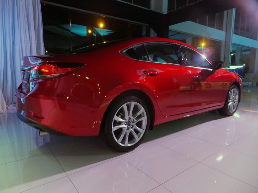 Mazda 6 officially launched – 2.0 sedan priced at RM159k, 2.5 sedan at RM190k, 2.5 Touring at RM194k Image #162753