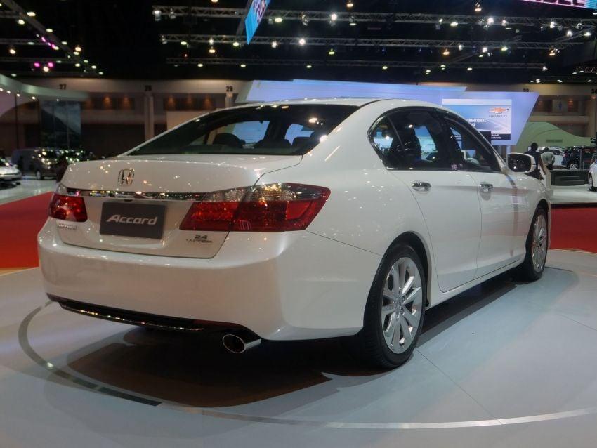 ASEAN-spec 2013 Honda Accord surfaces in Bangkok Image #163802