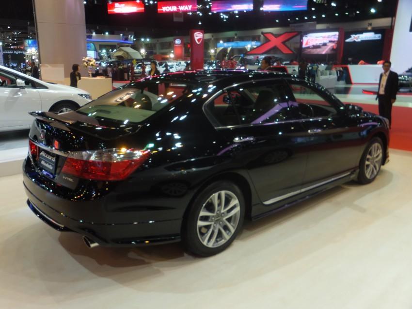 ASEAN-spec 2013 Honda Accord surfaces in Bangkok Image #163808