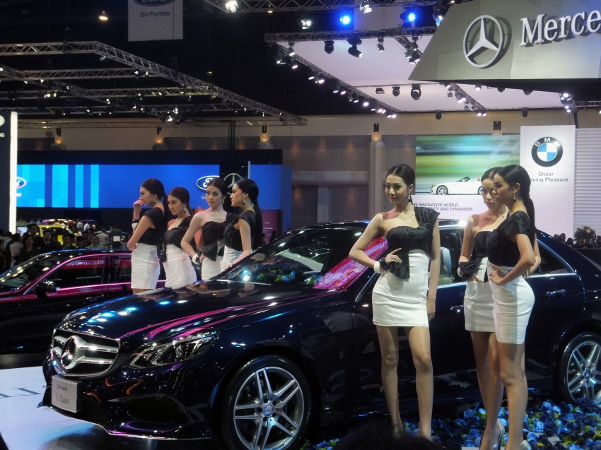 W212 Mercedes-Benz E-Class facelift at Bangkok show Image #164121