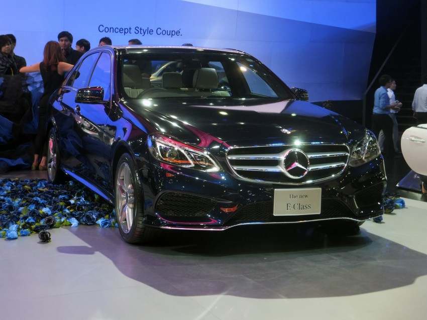 W212 Mercedes-Benz E-Class facelift at Bangkok show Image #164122