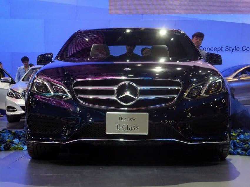 W212 Mercedes-Benz E-Class facelift at Bangkok show Image #164123