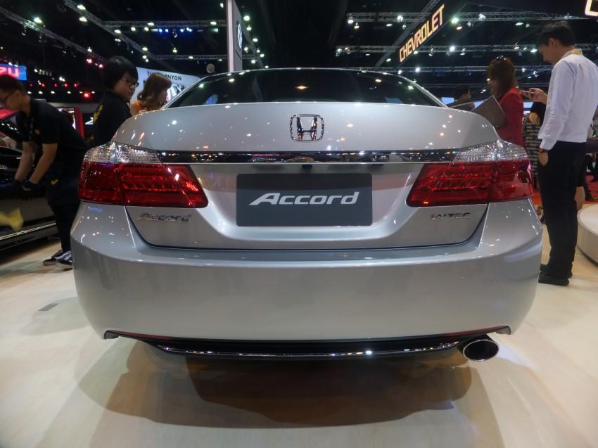 ASEAN-spec 2013 Honda Accord surfaces in Bangkok Image #163895