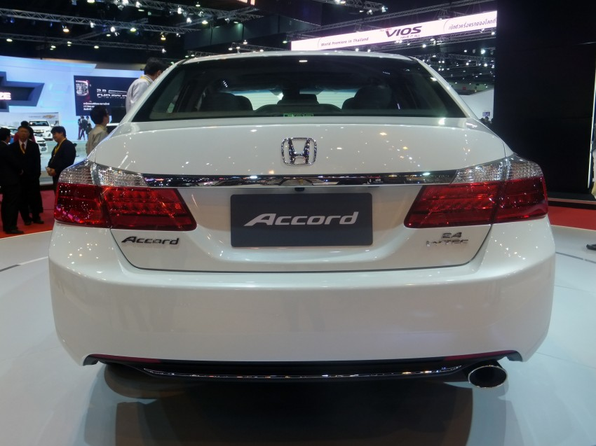 ASEAN-spec 2013 Honda Accord surfaces in Bangkok Image #163896
