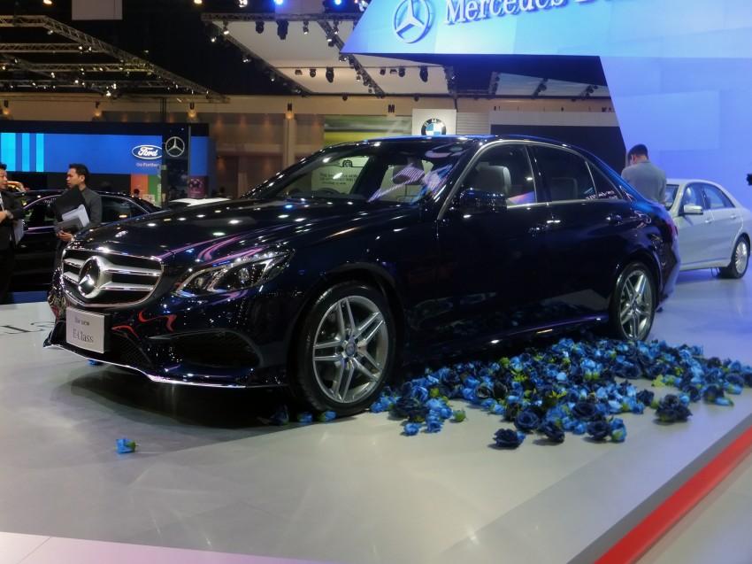 W212 Mercedes-Benz E-Class facelift at Bangkok show Image #164126
