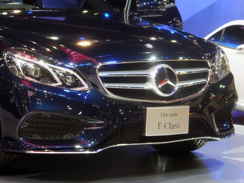 W212 Mercedes-Benz E-Class facelift at Bangkok show Image #164310