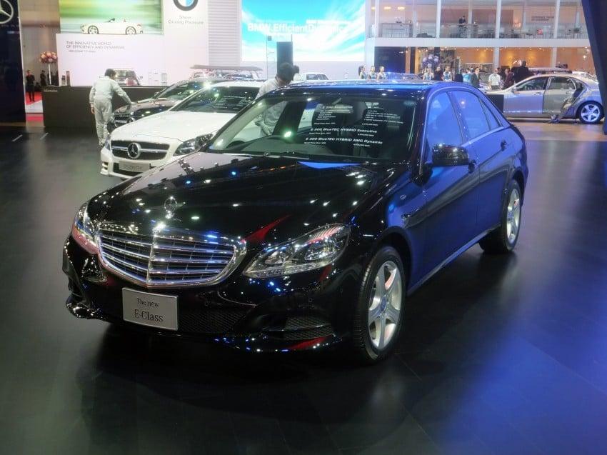 W212 Mercedes-Benz E-Class facelift at Bangkok show Image #164311