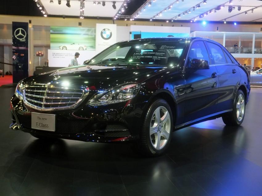 W212 Mercedes-Benz E-Class facelift at Bangkok show Image #164312