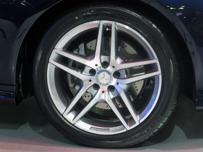 W212 Mercedes-Benz E-Class facelift at Bangkok show Image #164313