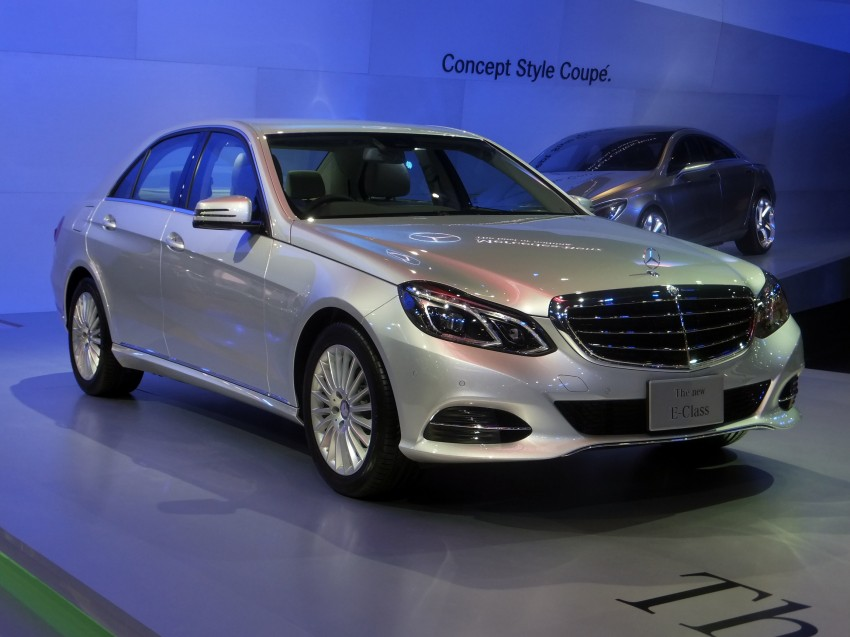 W212 Mercedes-Benz E-Class facelift at Bangkok show Image #164315