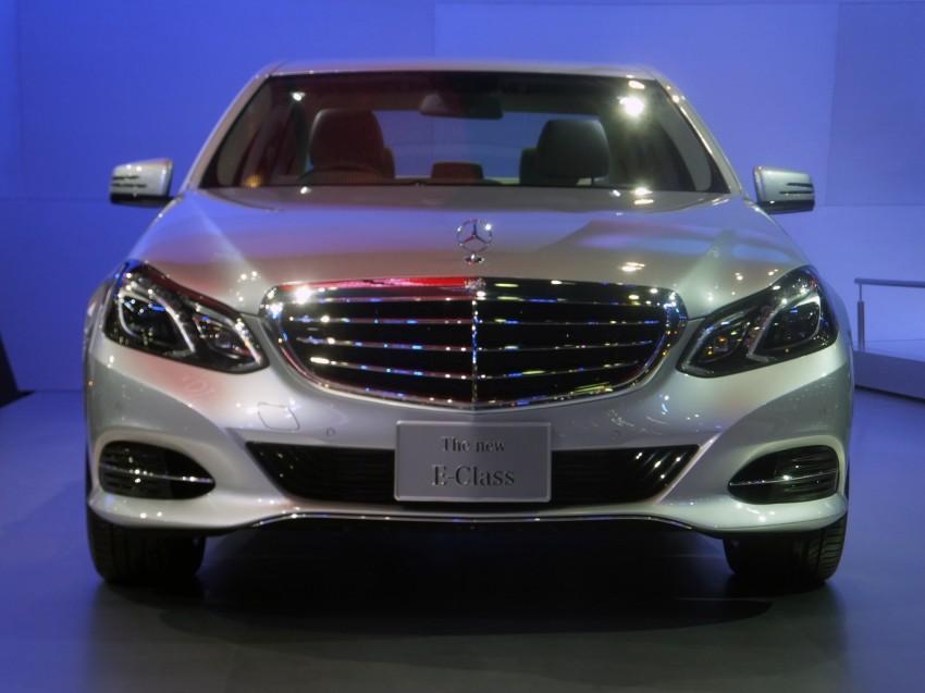 W212 Mercedes-Benz E-Class facelift at Bangkok show Image #164316