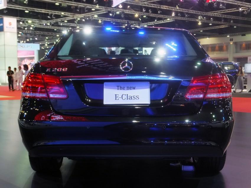 W212 Mercedes-Benz E-Class facelift at Bangkok show Image #164317