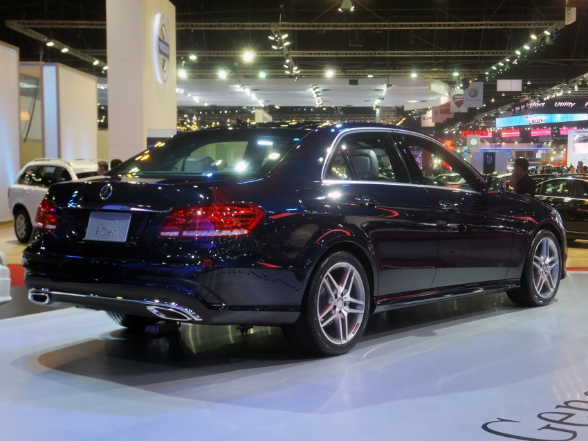 W212 Mercedes-Benz E-Class facelift at Bangkok show Image #164318