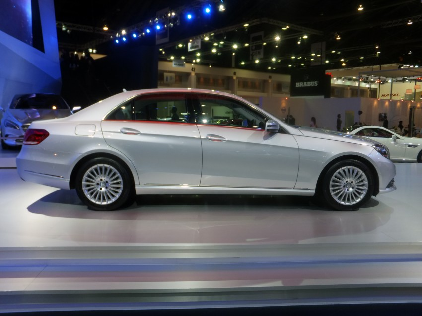 W212 Mercedes-Benz E-Class facelift at Bangkok show Image #164319