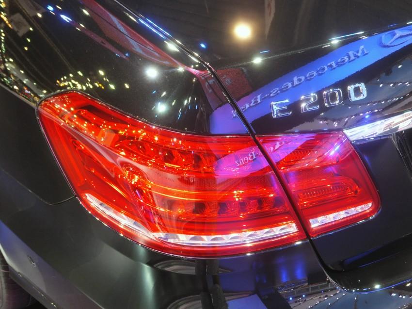 W212 Mercedes-Benz E-Class facelift at Bangkok show Image #164323