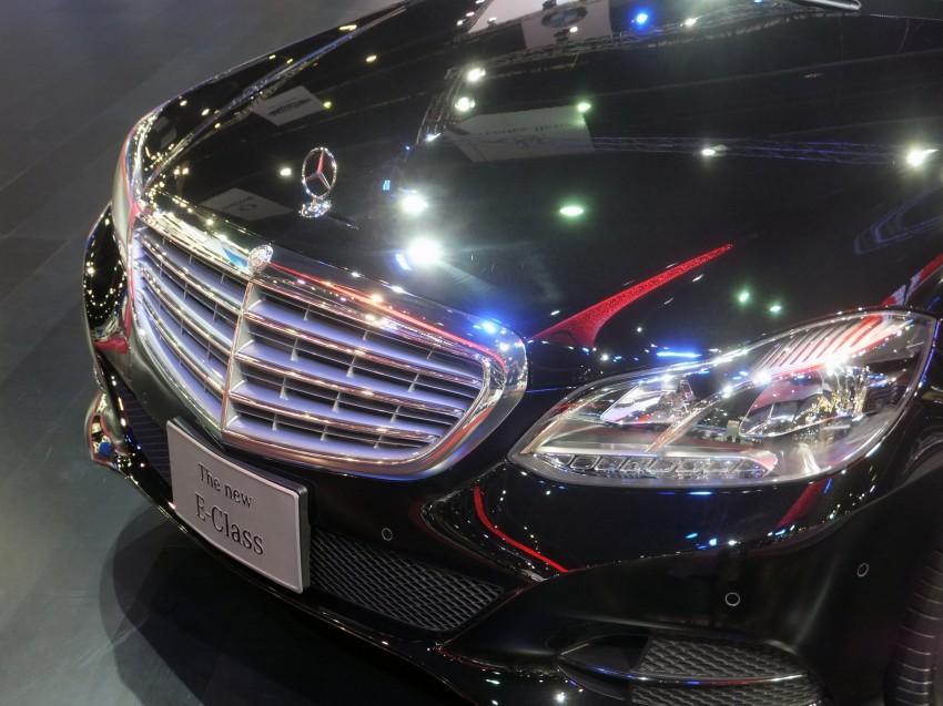 W212 Mercedes-Benz E-Class facelift at Bangkok show Image #164324