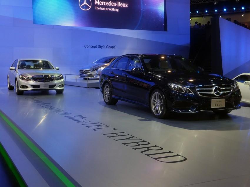 W212 Mercedes-Benz E-Class facelift at Bangkok show Image #164325