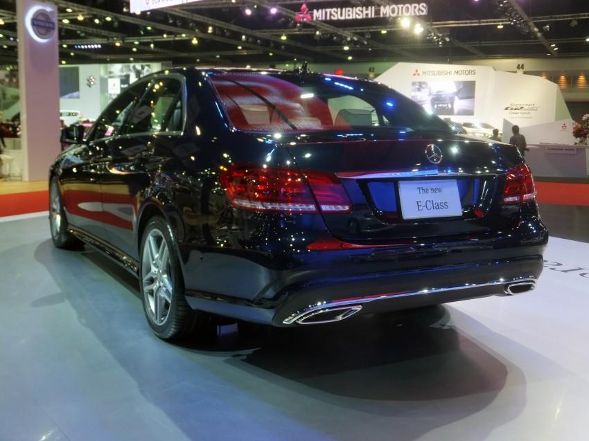 W212 Mercedes-Benz E-Class facelift at Bangkok show Image #164326