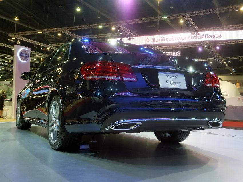 W212 Mercedes-Benz E-Class facelift at Bangkok show Image #164327