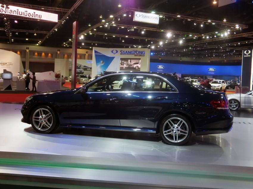 W212 Mercedes-Benz E-Class facelift at Bangkok show Image #164328