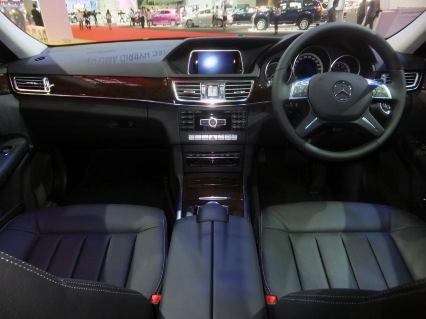 W212 Mercedes-Benz E-Class facelift at Bangkok show Image #164329