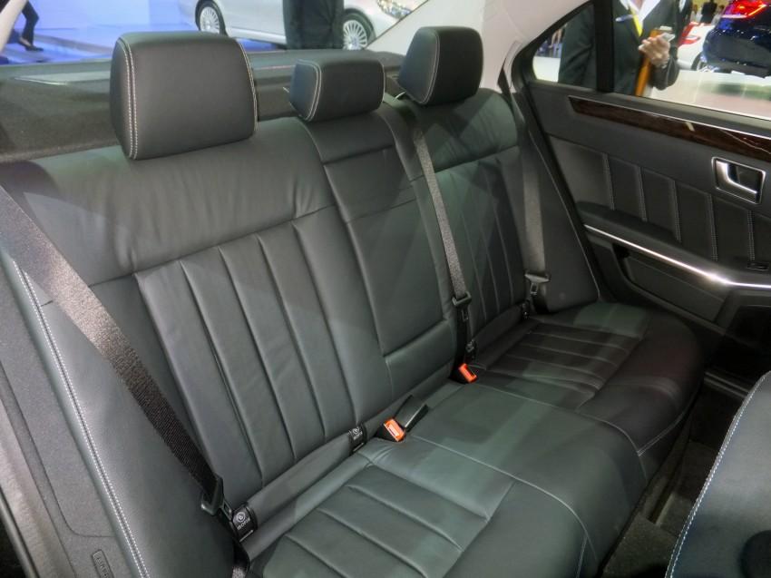 W212 Mercedes-Benz E-Class facelift at Bangkok show Image #164333