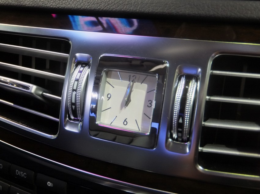 W212 Mercedes-Benz E-Class facelift at Bangkok show Image #164335