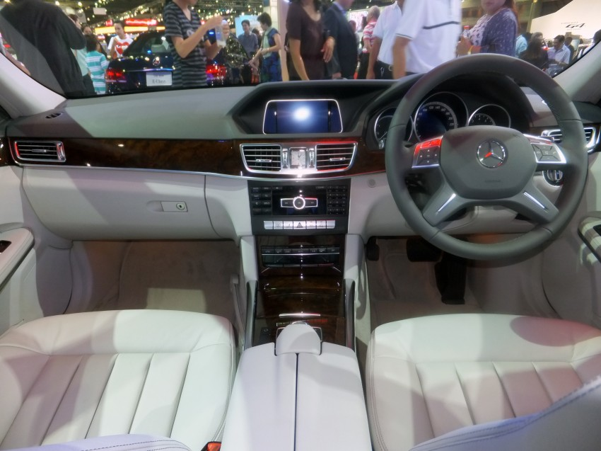 W212 Mercedes-Benz E-Class facelift at Bangkok show Image #164343
