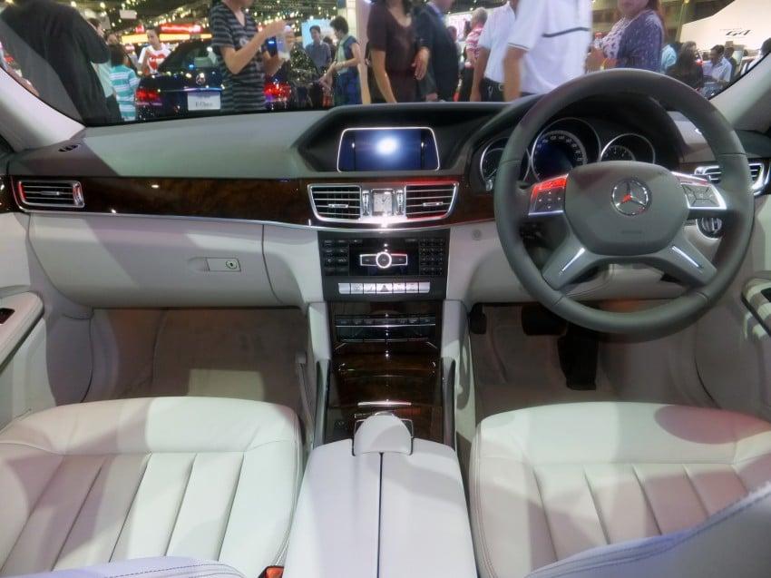 W212 Mercedes-Benz E-Class facelift at Bangkok show Image #164343