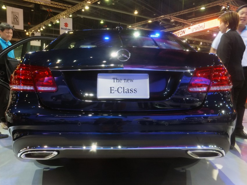 W212 Mercedes-Benz E-Class facelift at Bangkok show Image #164345