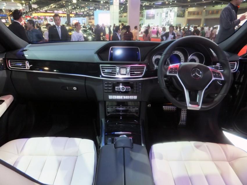 W212 Mercedes-Benz E-Class facelift at Bangkok show Image #164347