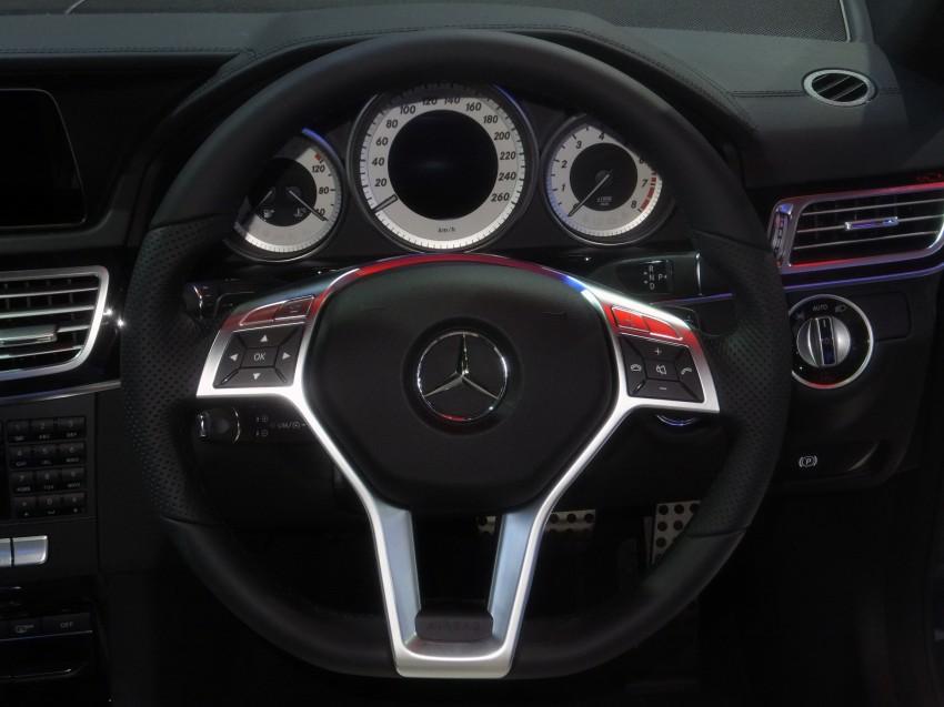 W212 Mercedes-Benz E-Class facelift at Bangkok show Image #164348