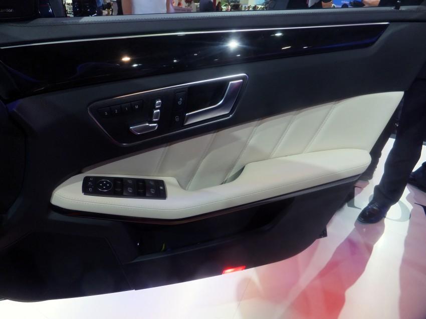 W212 Mercedes-Benz E-Class facelift at Bangkok show Image #164352