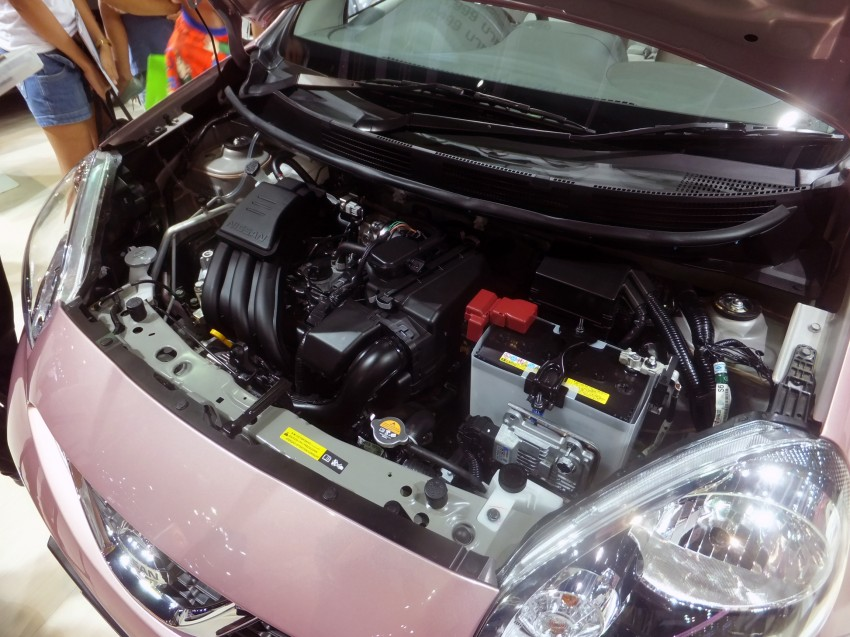 Nissan March facelift marches in at the Bangkok show Image #164419