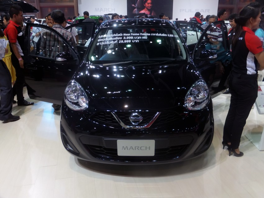 Nissan March facelift marches in at the Bangkok show Image #164421