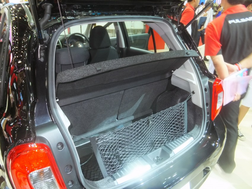 Nissan March facelift marches in at the Bangkok show Image #164426