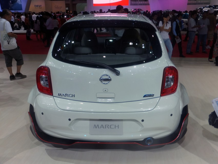 Nissan March facelift marches in at the Bangkok show Image #164428