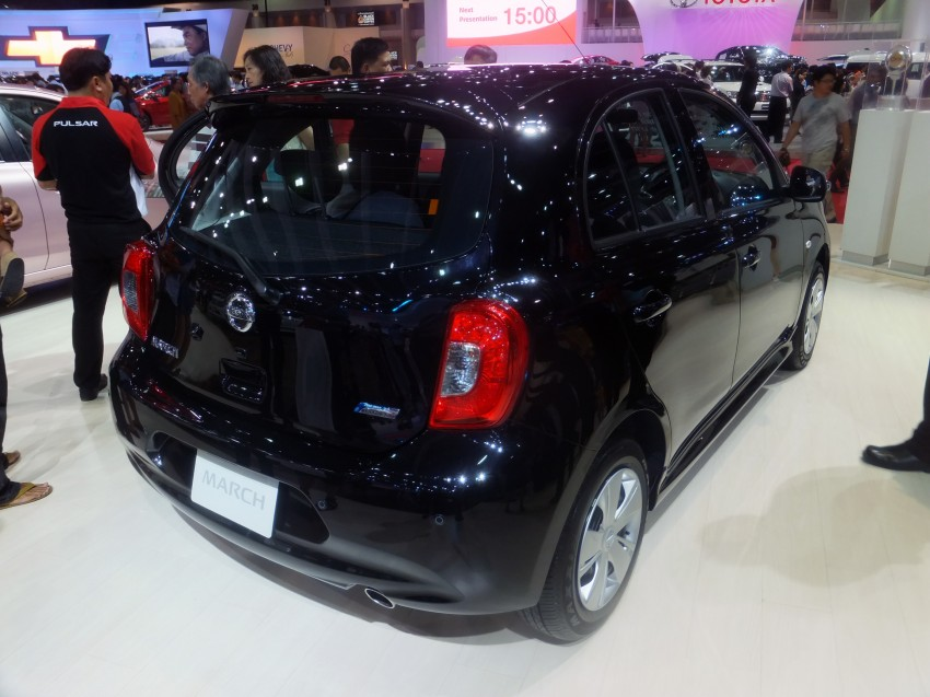 Nissan March facelift marches in at the Bangkok show Image #164430