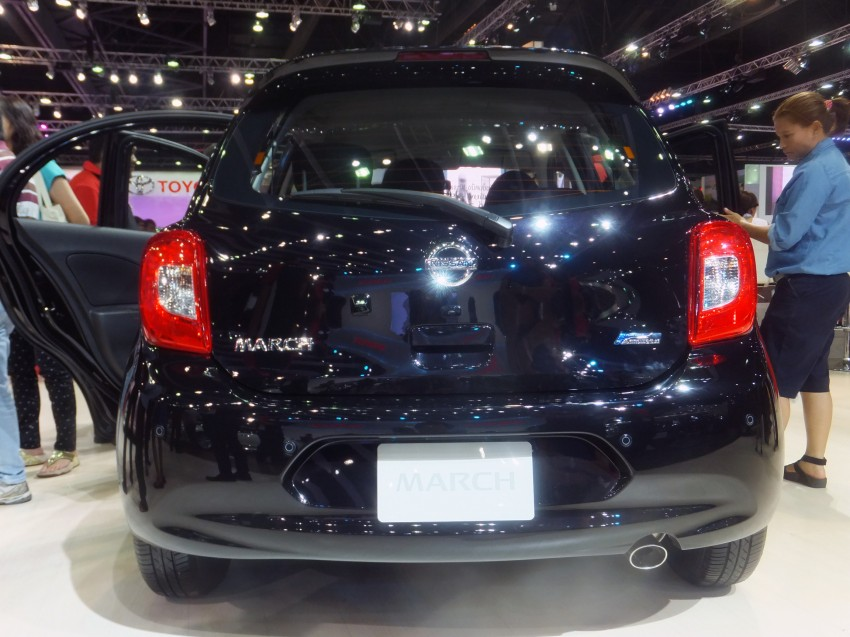 Nissan March facelift marches in at the Bangkok show Image #164431