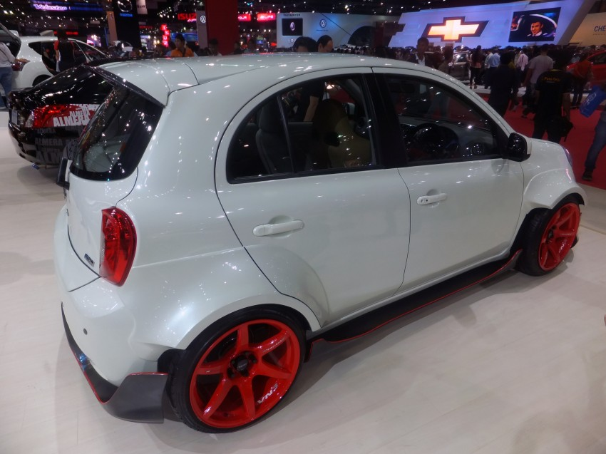 Nissan March facelift marches in at the Bangkok show Image #164433