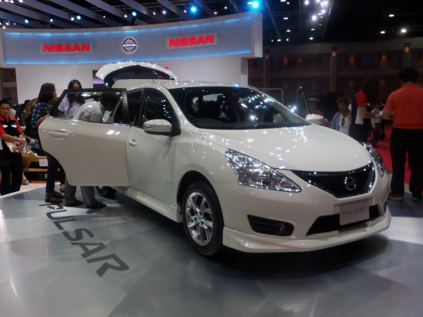 Nissan Pulsar five-door hatch on the Bangkok stand Image #164772