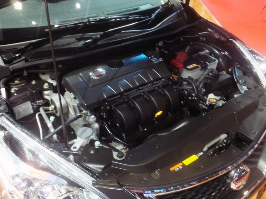 Nissan Pulsar five-door hatch on the Bangkok stand Image #164773