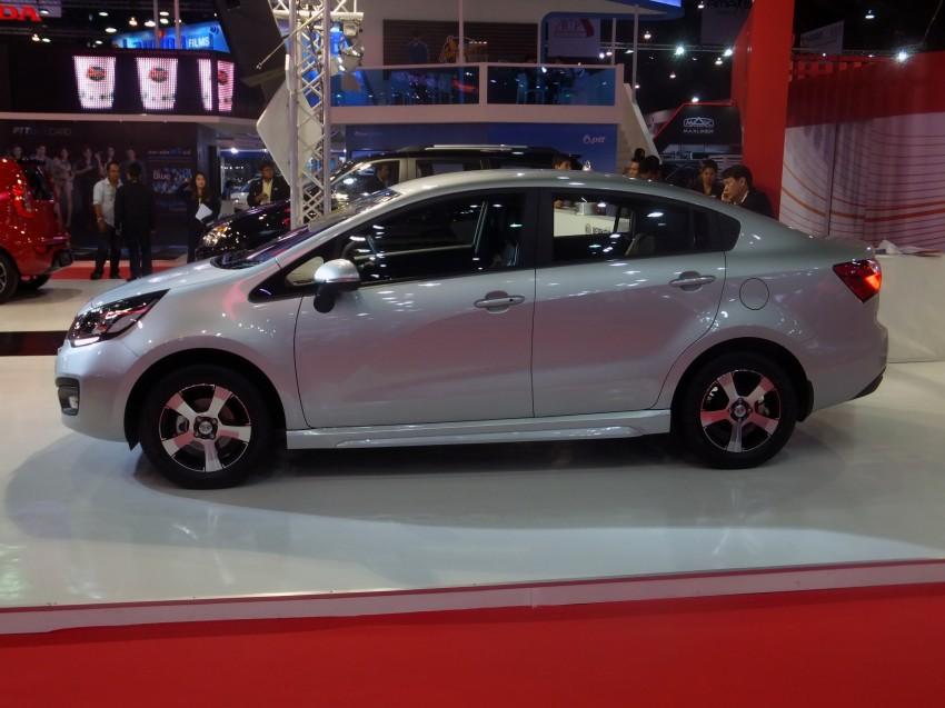 Kia Rio sedan – interesting alternative to hatchback? Image #164793