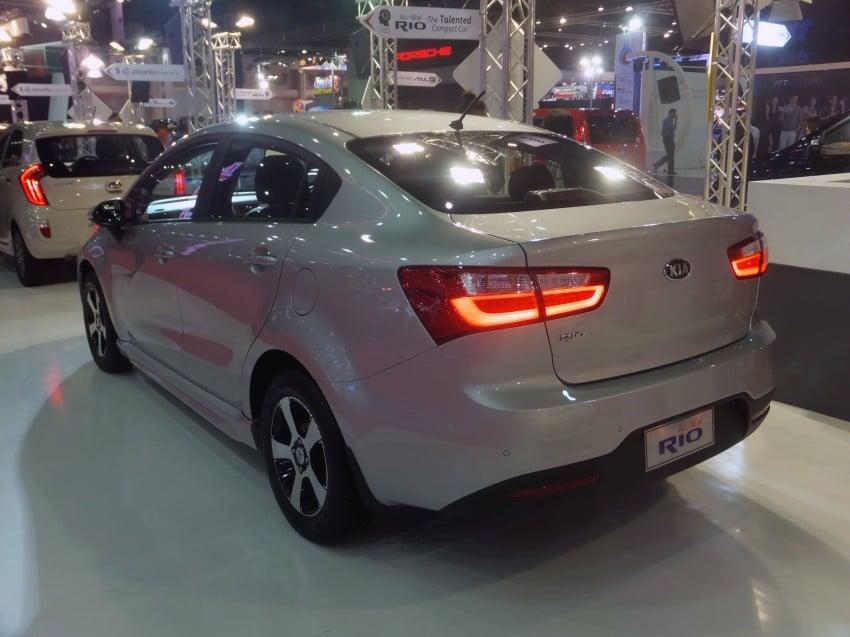 Kia Rio sedan – interesting alternative to hatchback? Image #164796