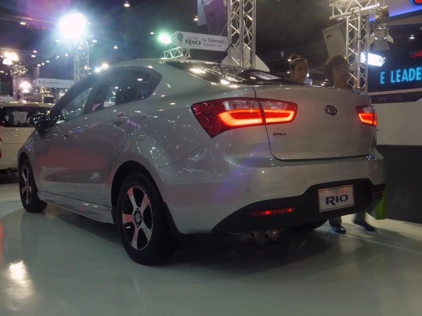 Kia Rio sedan – interesting alternative to hatchback? Image #164797