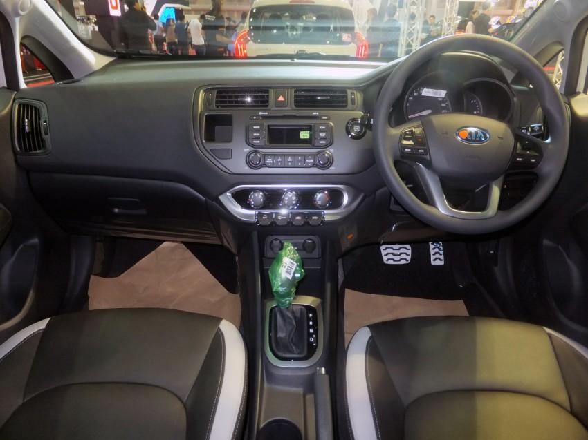 Kia Rio sedan – interesting alternative to hatchback? Image #164801