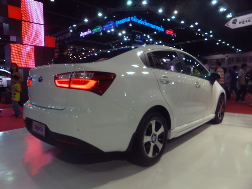 Kia Rio sedan – interesting alternative to hatchback? Image #164803