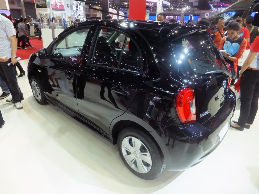 Nissan March facelift marches in at the Bangkok show Image #164496