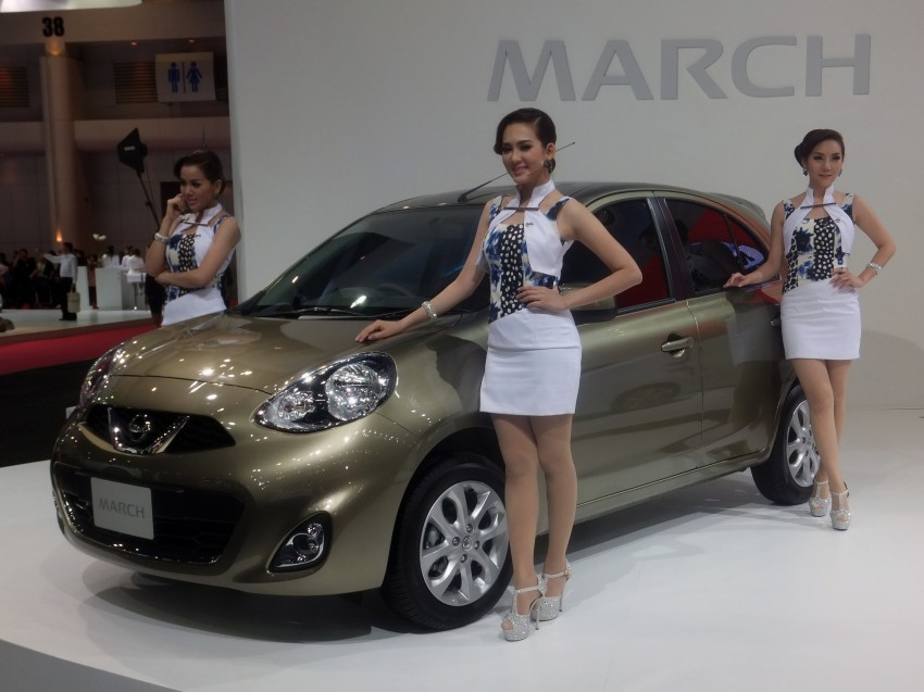 Nissan March facelift marches in at the Bangkok show Image #164499