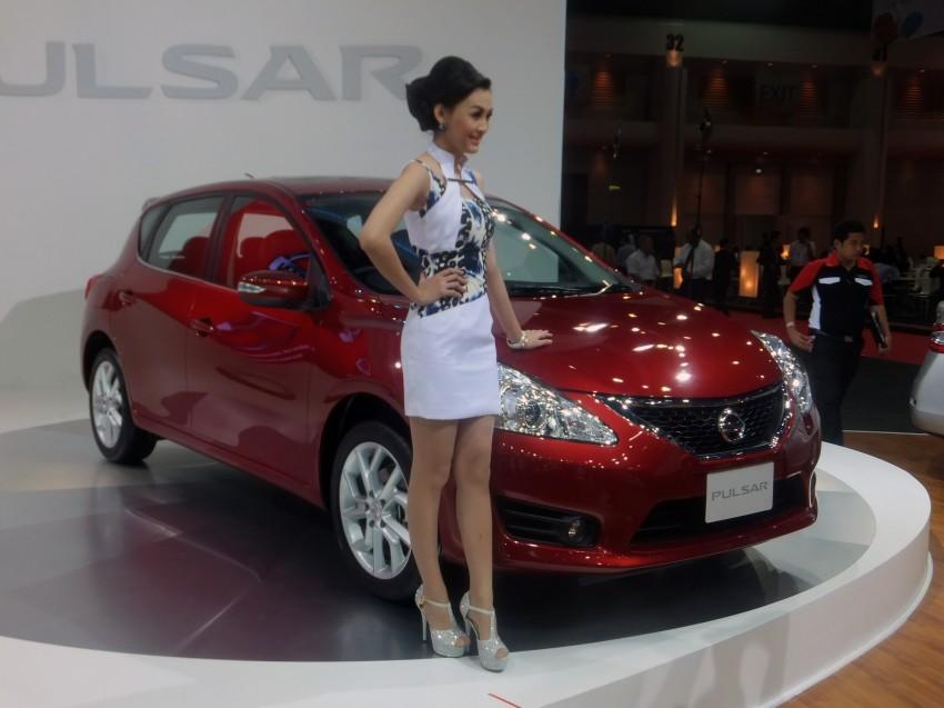 Nissan Pulsar five-door hatch on the Bangkok stand Image #164778